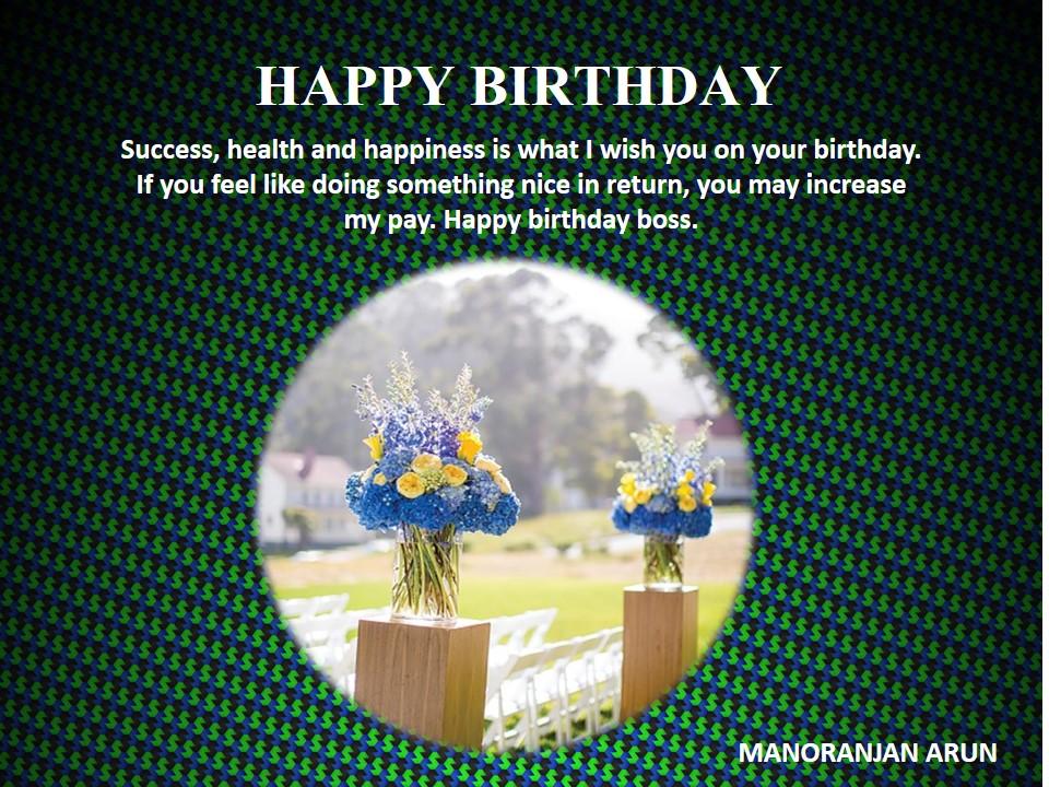 MA-116 Birthday Wishes (Kehul)